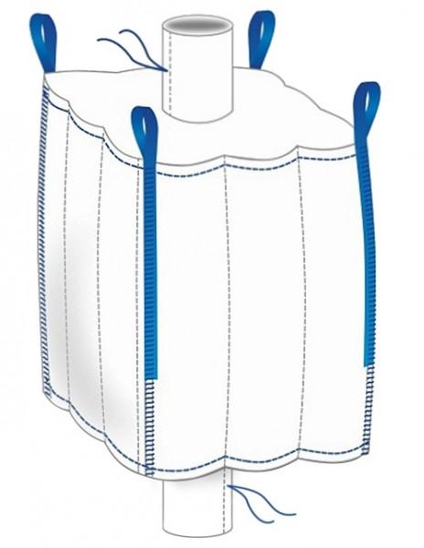 Q-Bag 110x110x115cm - remplissage/vidage