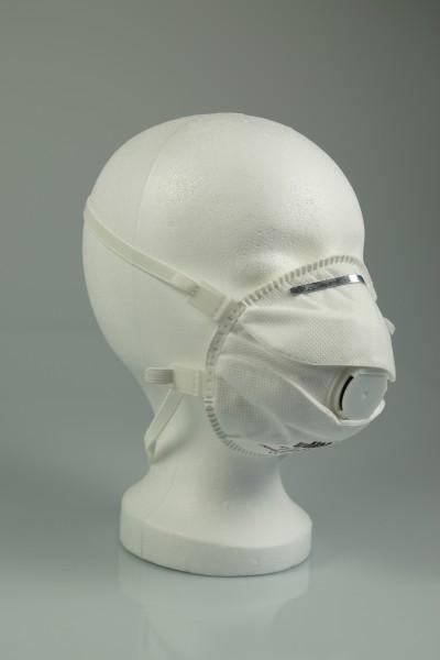 Masque pour particules fines FFP3, blanc